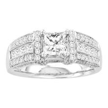 14KW 1.95CT DIAMOND 0.75CT-CPR BRIDAL-RING