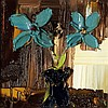 Colin Flack - Turquoise Flowers in a Vase