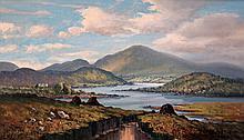 W H Burns - Donegal Landscape