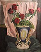 Rene Honta Red Roses in a Vase