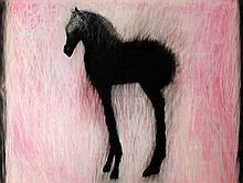 Ross Wilson  Pixie Foal  Mixed Media