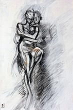 Rosaleen Sanderson  Argentine Tango  Oil on Canvas