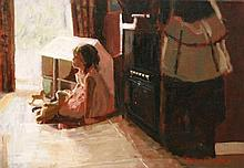 Rowland Davidson  Happy Moments  Acrylic on Canvas