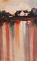 Dennis Orme Shaw. A Rustic Farmstead. Acrylic