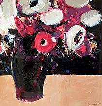 Paul Donaghy - Purple Floral in Dark Vase