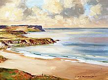 Sam McLarnon - Antrim Beach Scene
