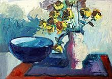 Brian Ballard - Yellow Roses And Bowl