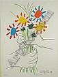 Pablo Picasso (Spanish 1881-1973) Bouquet