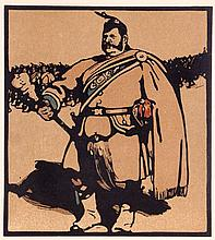 Sir William Nicholson (1872-1949) Le Tambour-Major, 1898, Woodblock,