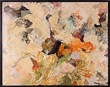 Artist Unknown (20th Century) Untitled, Mixed media on canvas,