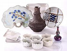 A Miscellaneous Collection of Contemporary Earthenware and Porcelain Decorative Items, 20th Century.