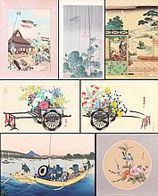 A Miscellaneous Collection of Japanese Woodblock Prints by Various Artists, 20th Century.