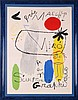 After Joan Miro (1893-1983) Galerie Maeght-Sculpture, Art, Graphics, Lithograph,, Joan Miro, $80