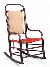 A Shaker Bentwood Rocking Chair, Early 20th Century.