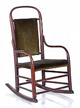 A Diminutive Shaker Bentwood Rocking Chair, 19th/20th Century.
