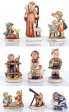 A Miscellaneous Collection of Hummel Figurines, 20th Century,