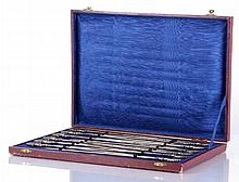 A Set of Twelve Habis 850 Silver Skewers, 20th Century.