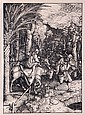 After Albrecht Durer (1471-1528) Flight Into Egypt, After original woodcut,