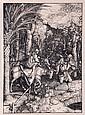 After Albrecht Durer (1471-1528) Flight Into Egypt, After original woodcut,
