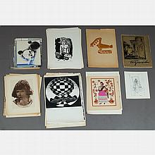 A Large Portfolio of Etchings and Lithographs After Various Artists, 20th Century,