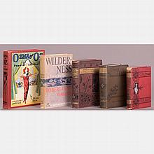 A Collection of Five Fiction Books by Various Authors, 20th Century,