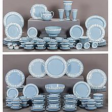 A Large Wedgwood Queensware Dinner Service, 20th Century,