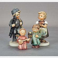A Collection of Hummel Figurines, 20th Century.