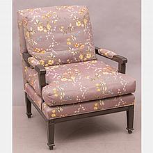 A Contemporary Upholstered Armchair, 20th Century.