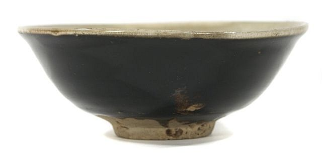 A Chinese Brown Glazed Bowl.