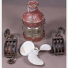 A Group of Three Nautical Items, 19th/20th Century,