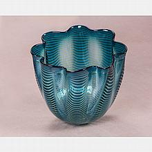 Dale Chihuly (b. 1941) Basket for Portland Press, 1997, Blown glass,