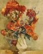 Bela Adalbert Kadar (Hungarian, 1877-1956) Floral Still Life, Oil on canvas,