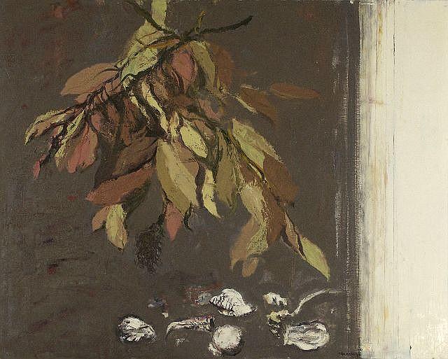 Giancarlo Cazzaniga (b. 1930) Interno, Oil on canvas,