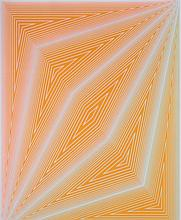 Richard Anuszkiewicz (b.1930) Number 4 from the Inward Eye Suite, Screenprint in color,
