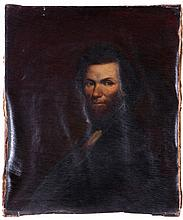 American School (19th Century) Portrait of a Gentleman, Oil on canvas.