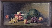 Jean Cordain (French, 20th Century) Still Life, Oil on canvas,