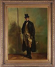 After John Singer Sargent (1856-1925) Portrait of Thomas Lister, Oil on canvas, 20th Century,