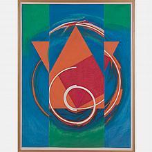 John Pearson (b. 1940) Finale #3, Pastel on paper,
