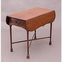 A Chippendale Mahogany Pembroke Table, 18th Century,