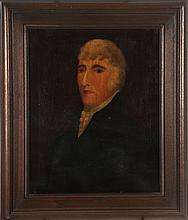 American School (19th Century) Portrait of Reverend Harry Thomas Rasten, Oil on canvas.