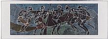 Hans Erni (1909-2015) Untitled, Color lithograph,