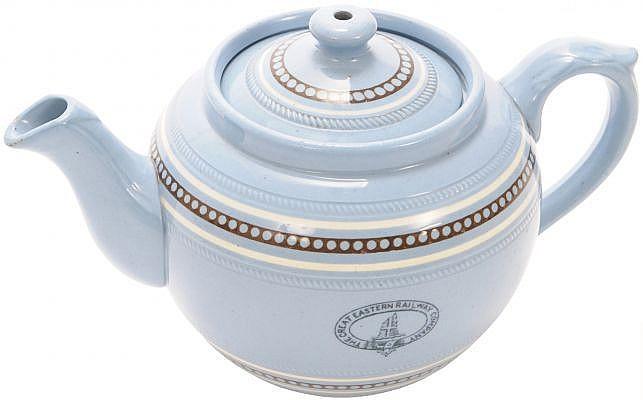 Railwayana : A Great Eastern Railway china teapot,