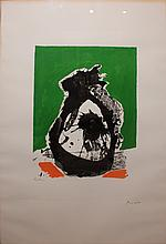 Robert Motherwell one plate from