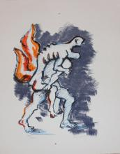 Jacques Lipchitz, one plate from