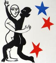 Alexander Calder, one plate from