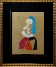 Pablo Picasso, one plate from