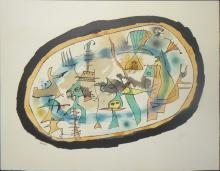 after Joan Miro