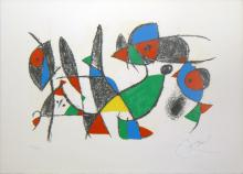 Joan Miro one plate from