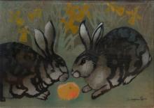 Georges Manzana-Pissarro pochoir
