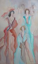 Basinet original oil painting